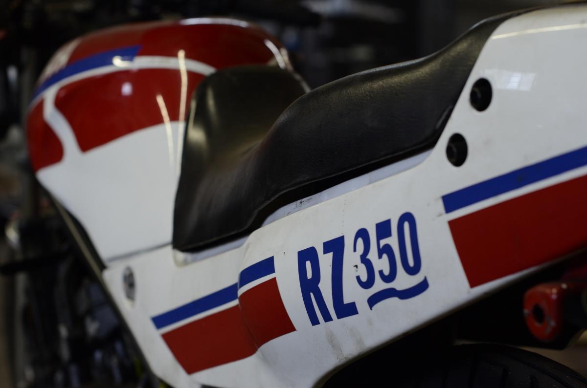 1988 Yamaha RZ350 Disassembly
