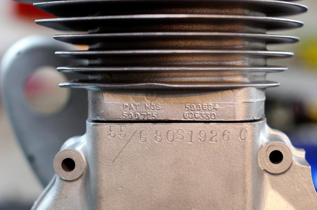 Matchless Engine Vapor Blasting