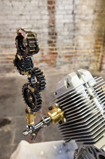 Moto Guzzi beer tap by Andrew Graham