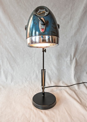 Andrew Graham's motorcycle light lamp conversion