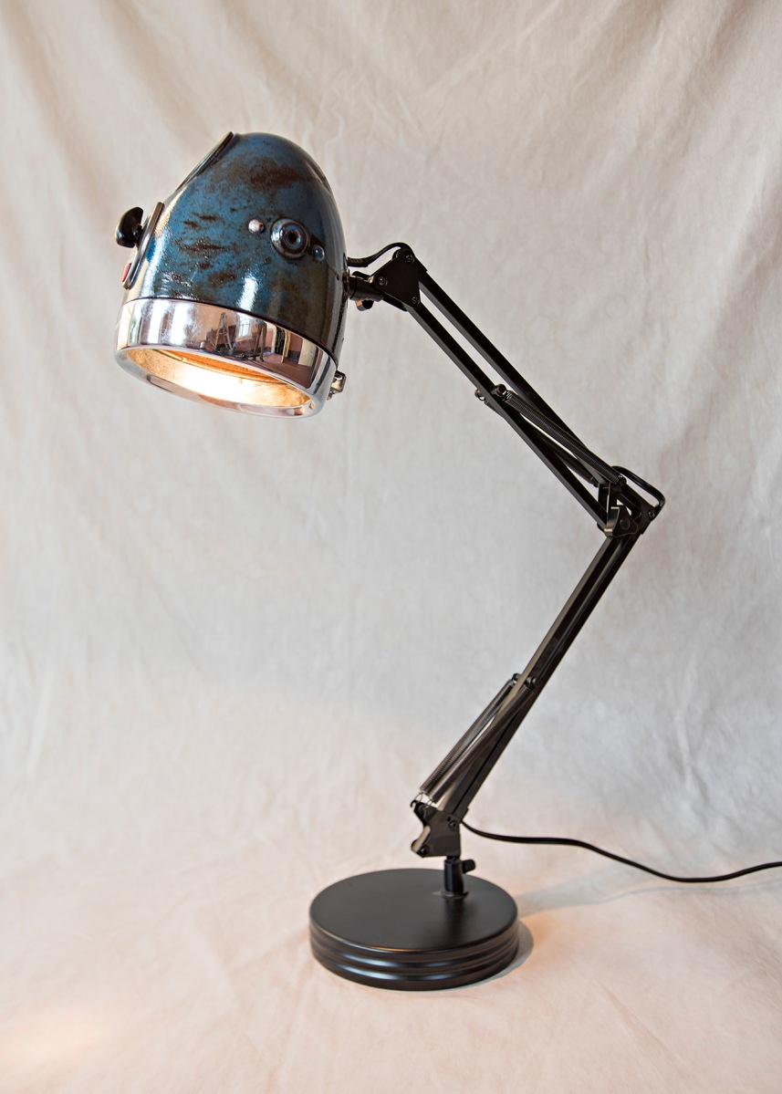Motorcycle Desk Lamp