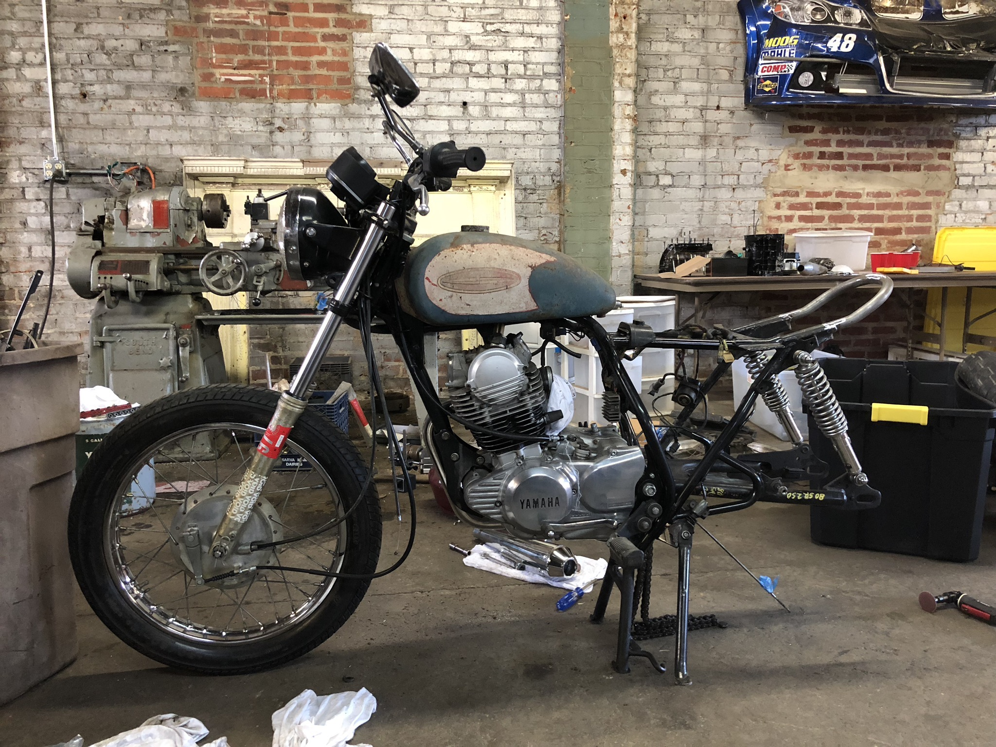 1982 Yamaha SR250 – The Exciter