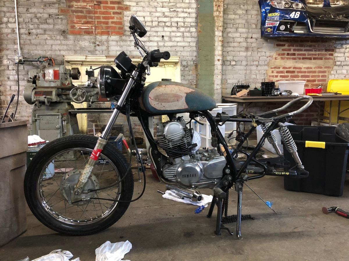 1982 Yamaha SR250 - The Exciter
